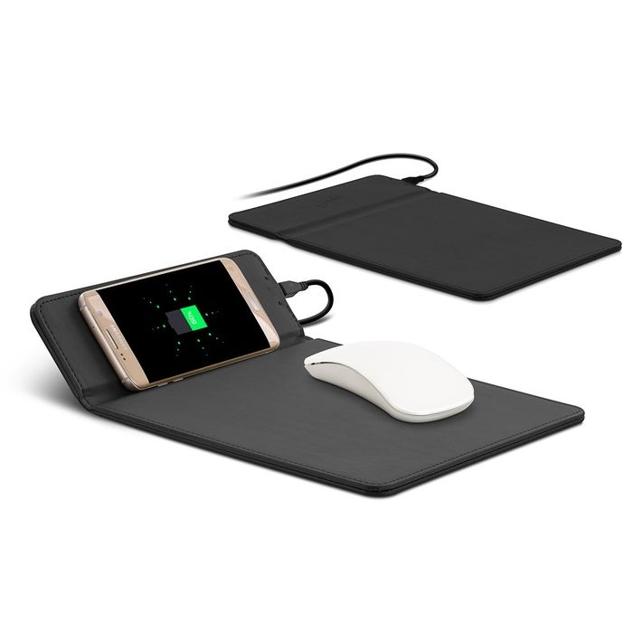 iZukk 2 in 1 Qi Wireless Charger & Mouse Pad