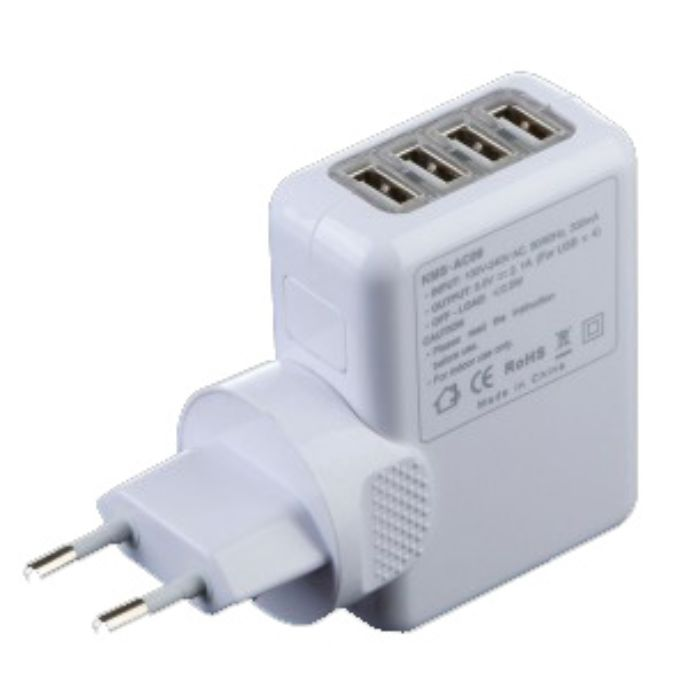 4 USB Travel Charger