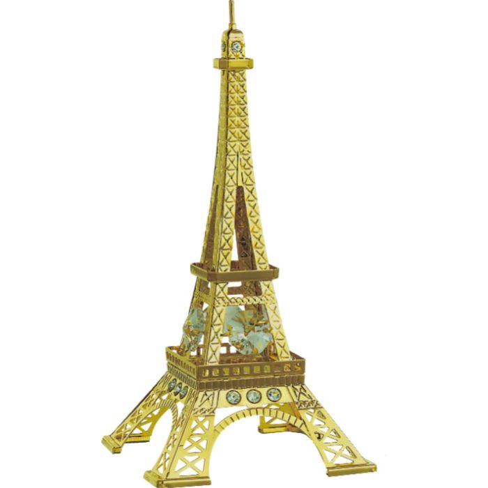 Eiffel Tower 24k Gold Plated