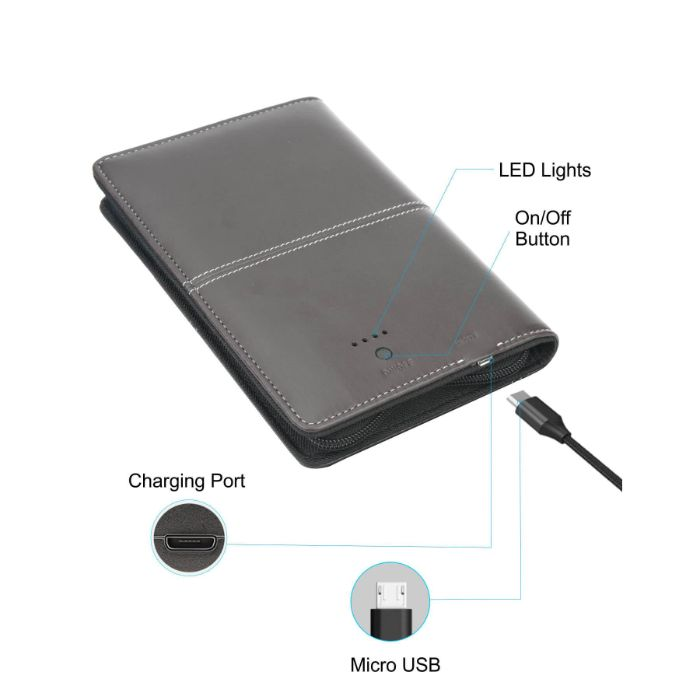 Portronics Power Wallet 4000 mAh Power Bank