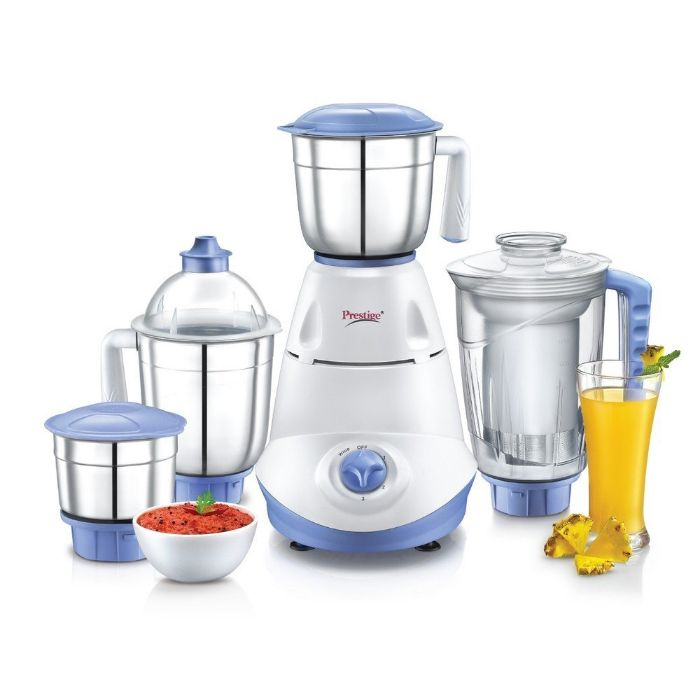 Prestige Iris Mixer Grinder with 3 Stainless Steel Jar & 1 Juicer Jar