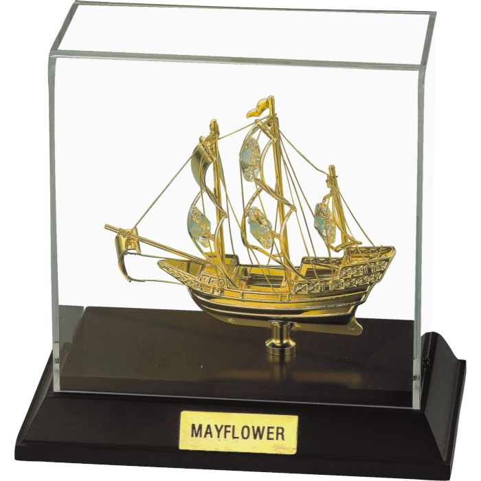 Sailing Ship 24k Gold Plated