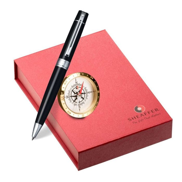 Sheaffer Gift Pen and Clock Combo