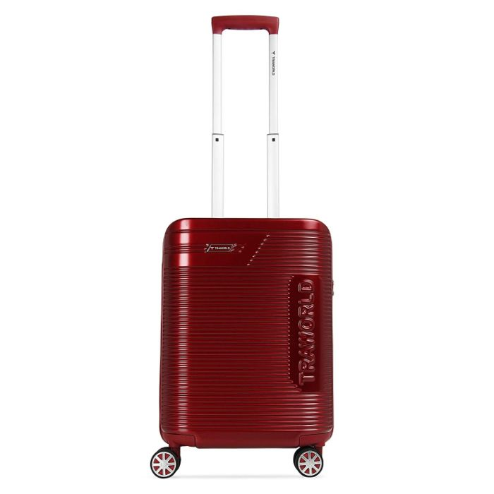 Traworld Booster Trolley Luggage Suitcase with TSA Lock