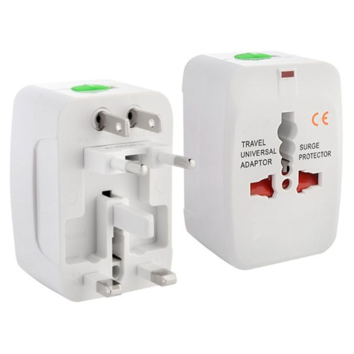 World Travel Adaptor With Surge Protection