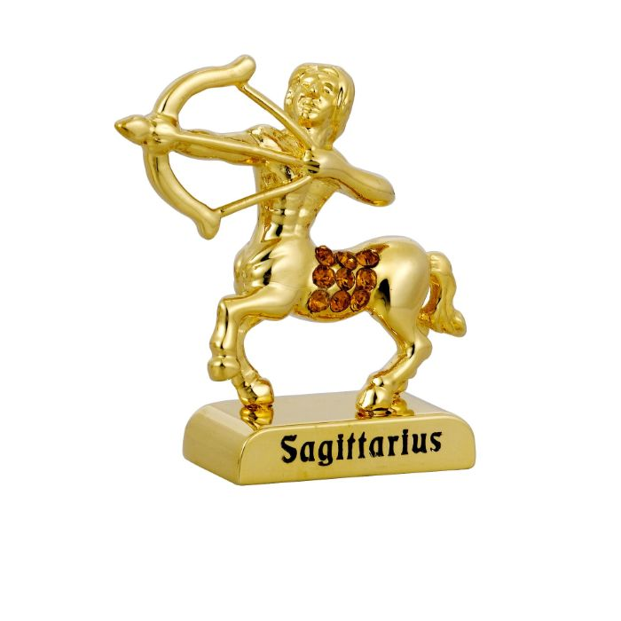 Zodiac Signs (SAGITTARIUS) 24k Gold Plated