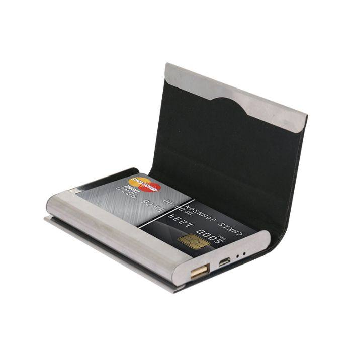 iZukk Visiting Card Holder 2500 mAh Power Bank
